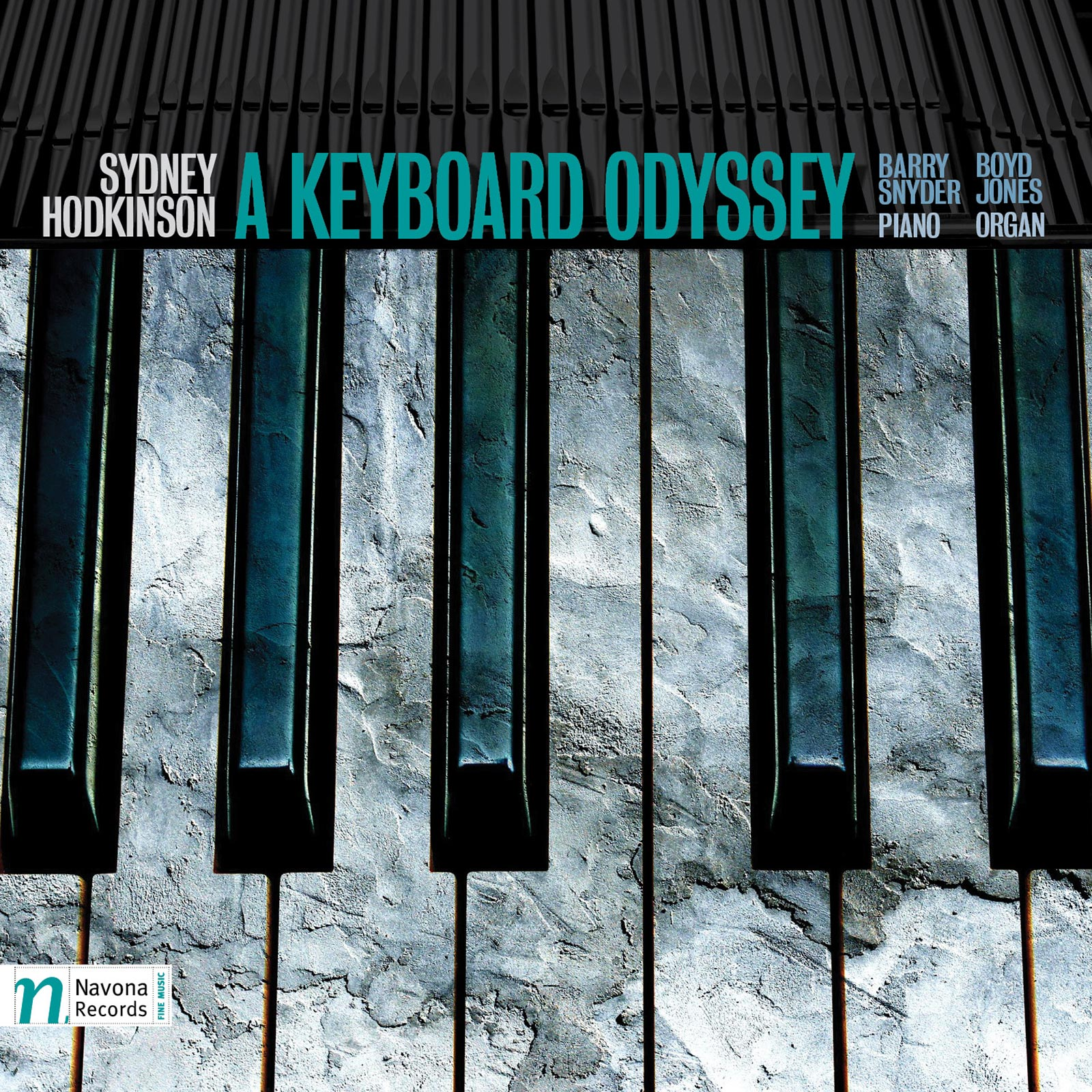 A KEYBOARD ODYSSEY - album cover