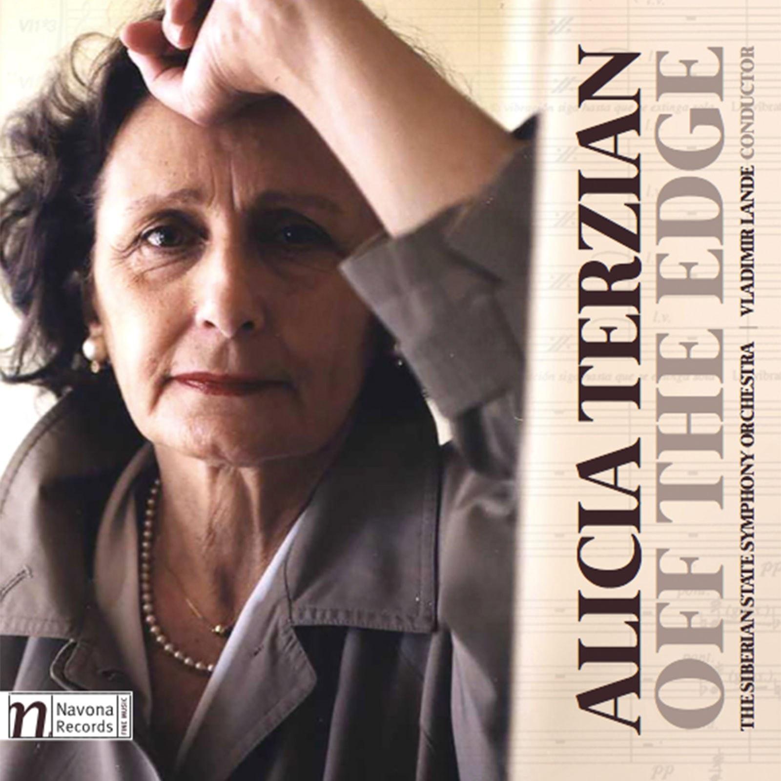 OFF THE EDGE - Alicia Terzian - Album Cover