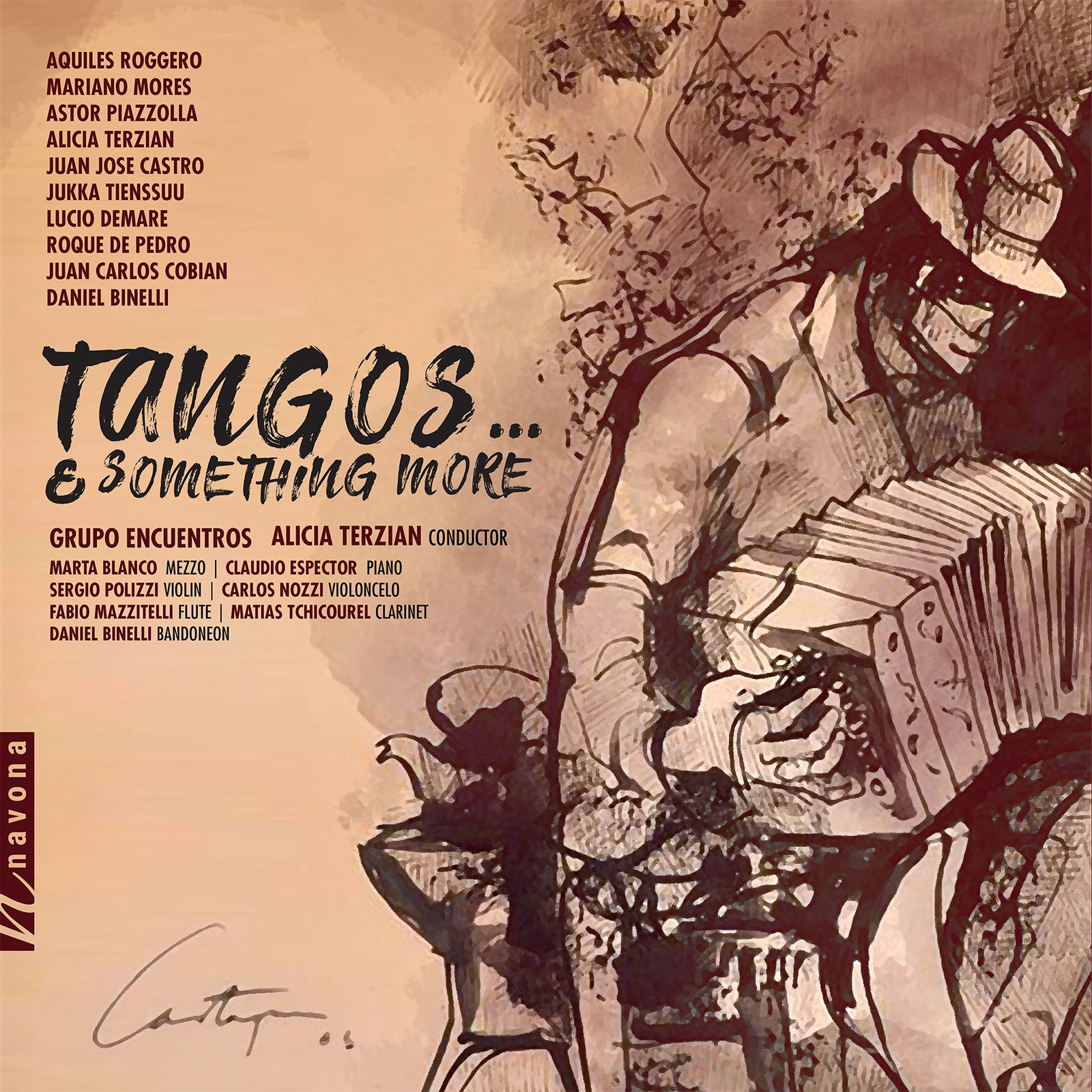 TANGOS... & SOMETHING MORE - Album Cover