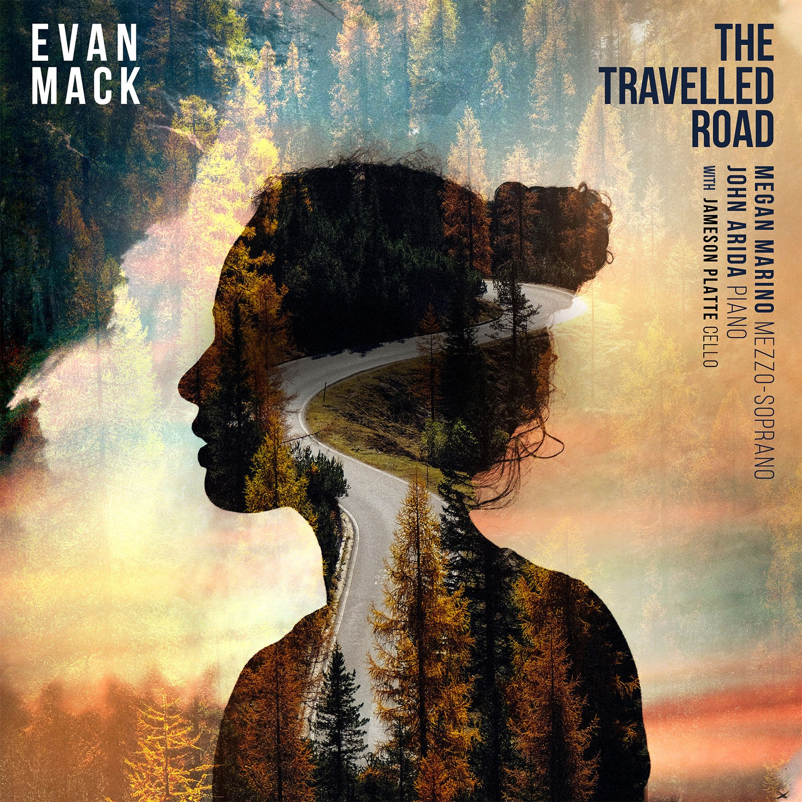 THE TRAVELLED ROAD-Album Cover