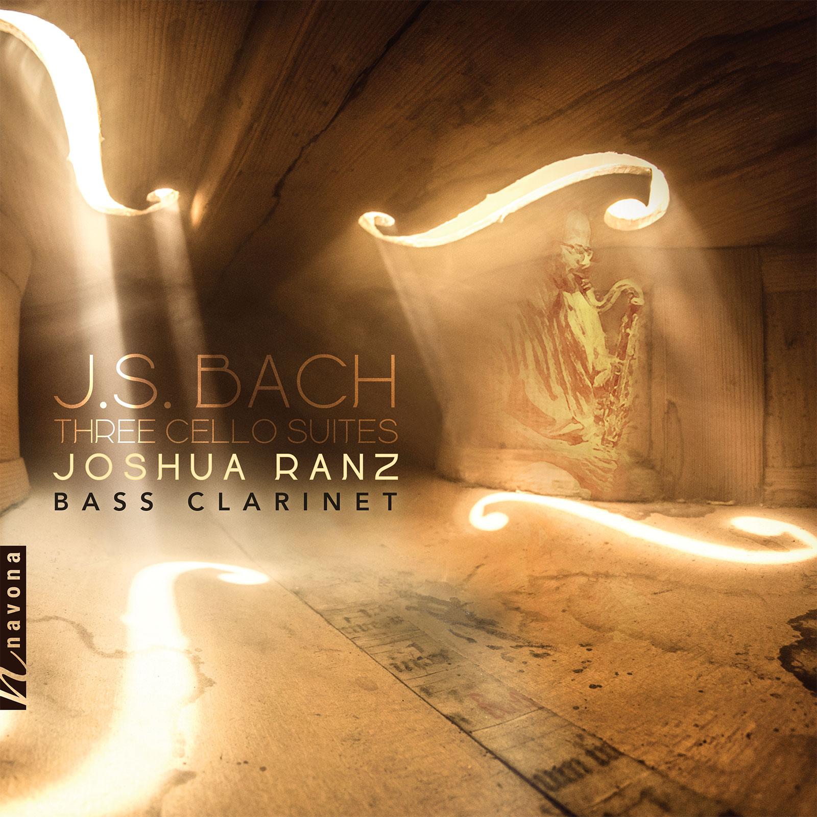 THREE CELLO SUITES - Joshua Ranz - Album Cover