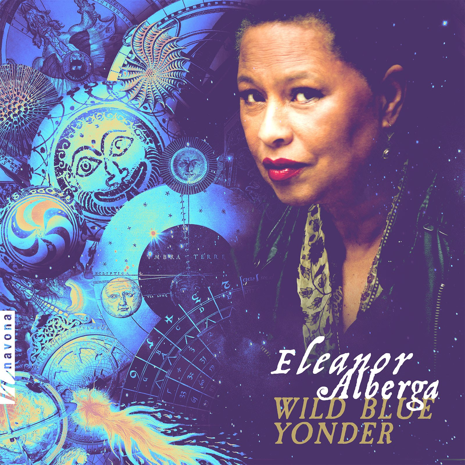 Wild Blue Yonder - Eleanor Alberga - Album Cover