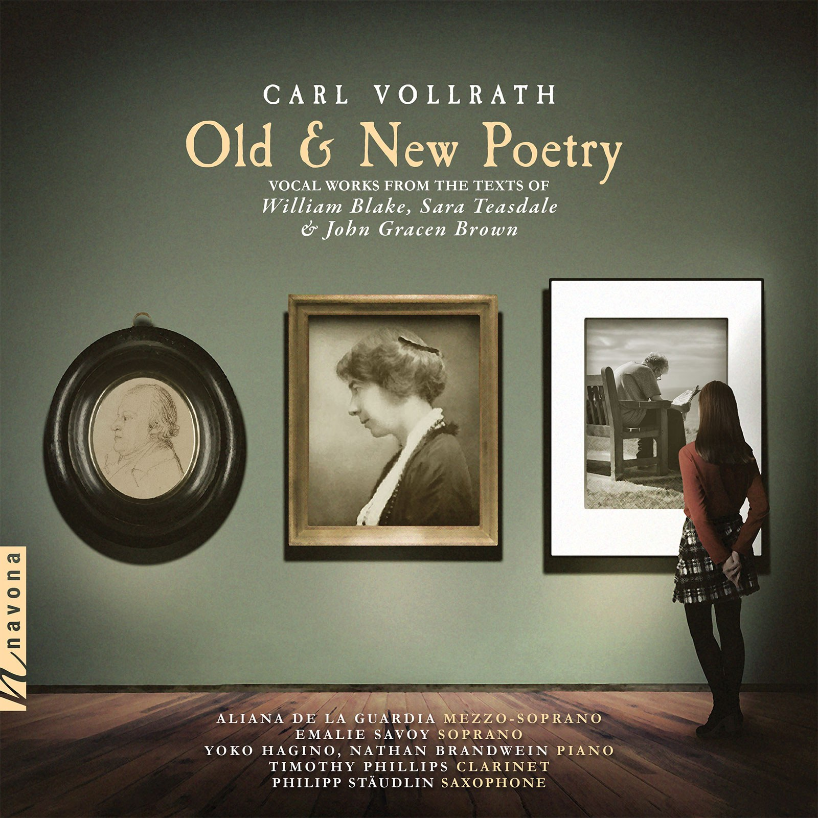OLD & NEW POETRY - Carl Vollrath - Album Cover