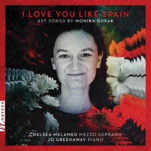 I Love You Like Spain - album cover