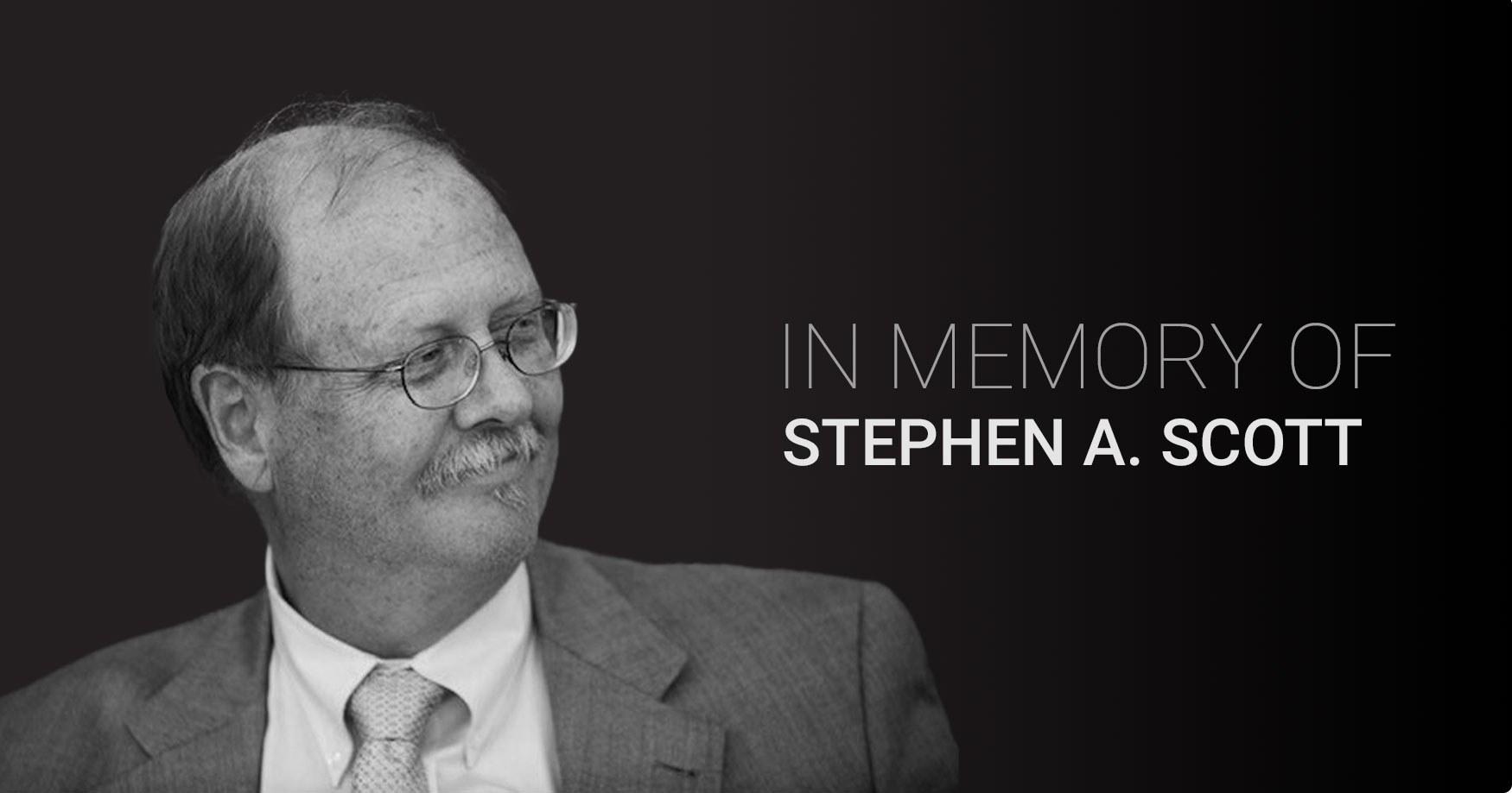 Stephen Scott Memoriam