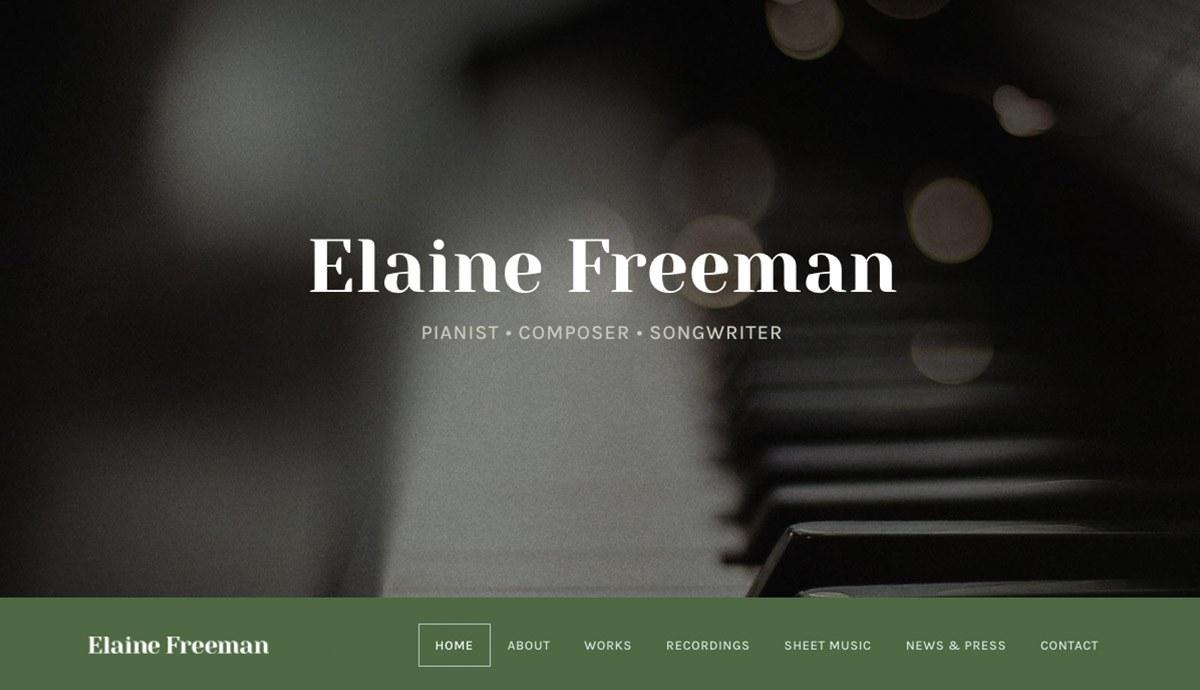 Elaine Freeman website