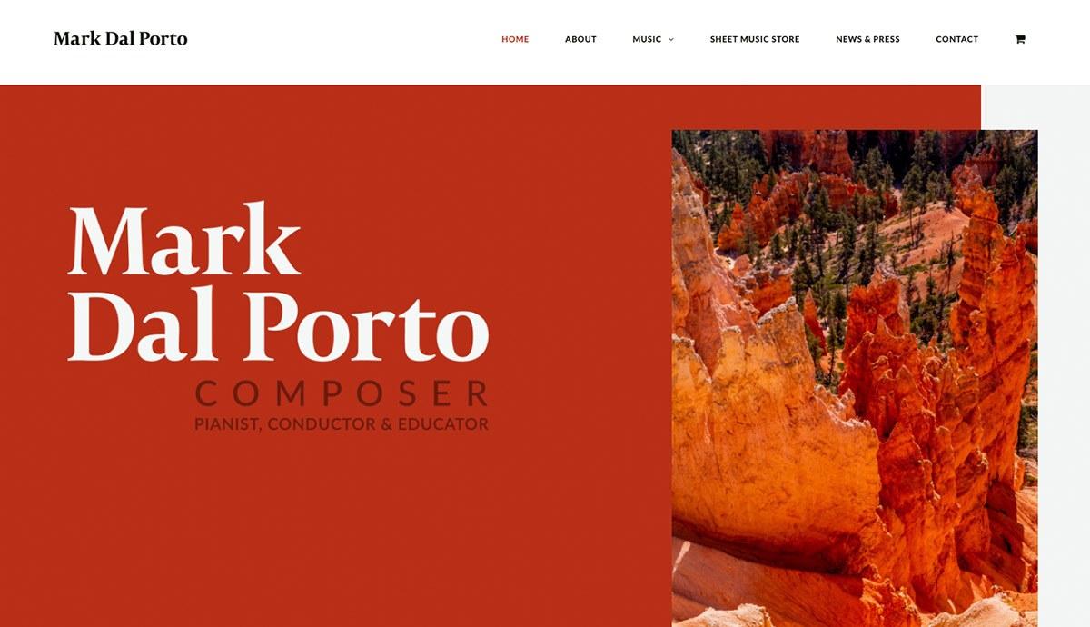 Mark Dal Porto website