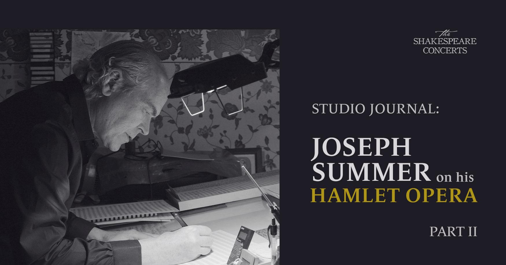 Joe Summer Journal Part 2