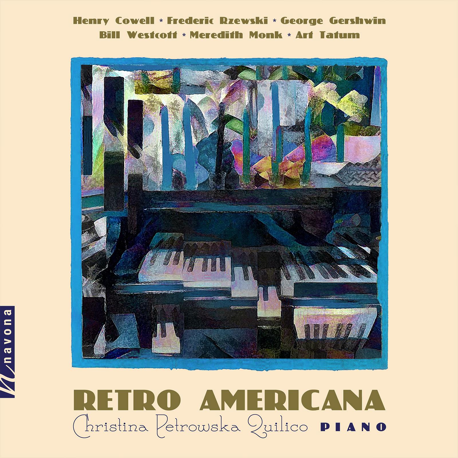 Retro Americana - Christina Petrowska Quilico - Album Cover