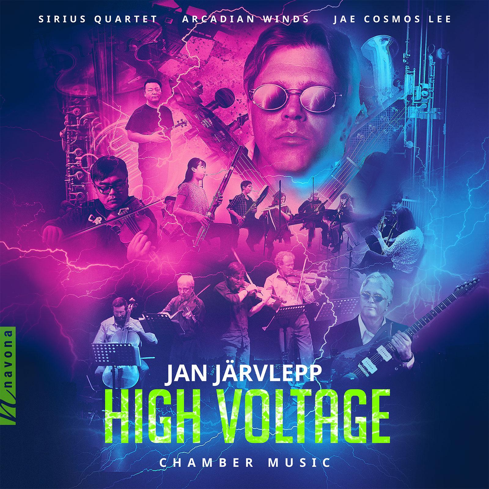High Voltage - Jan Jarvlepp - Album Cover