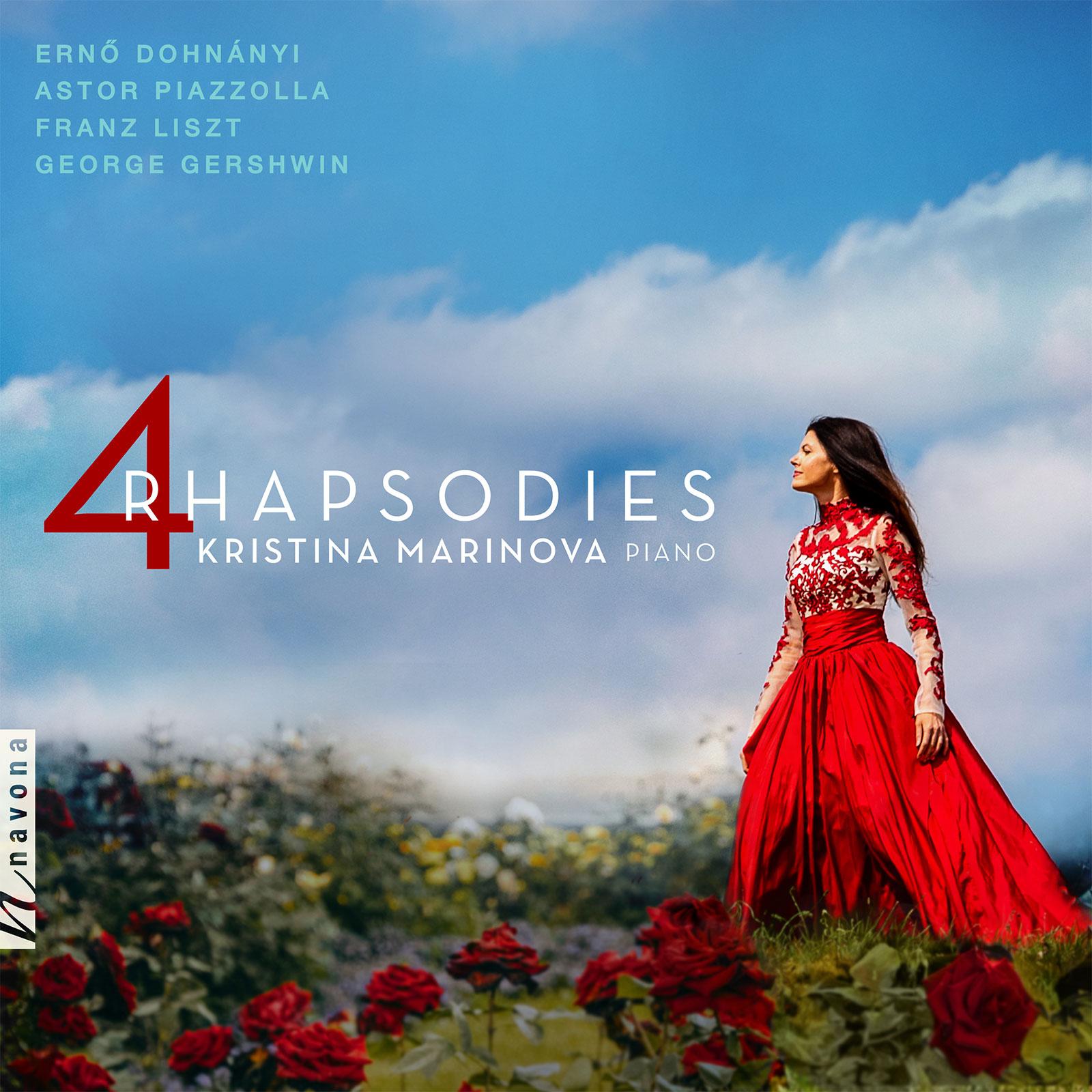 4 RHAPSODIES - Kristina Marinova - Album Cover