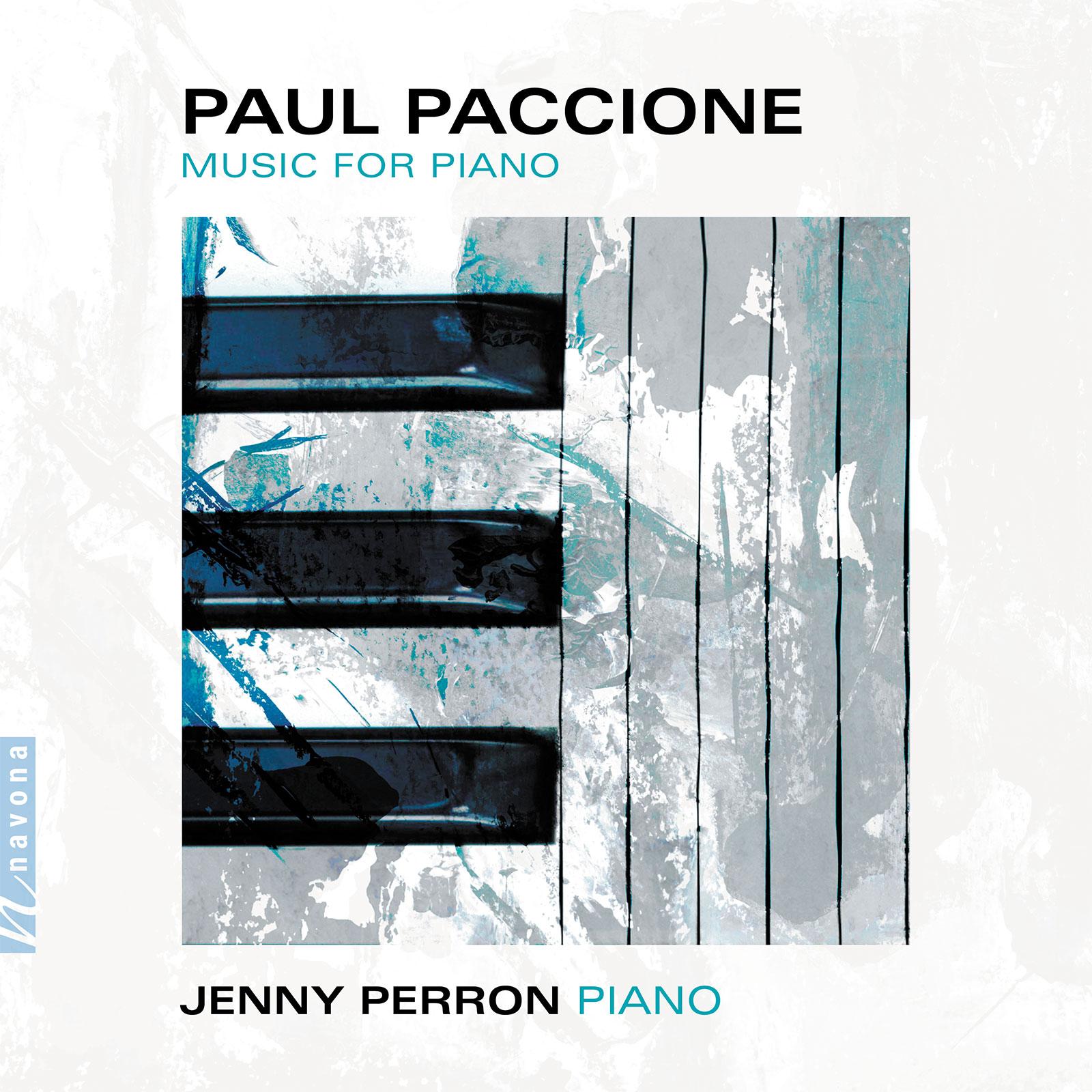 MUSIC FOR PIANO - Paul Paccione - Album Cover