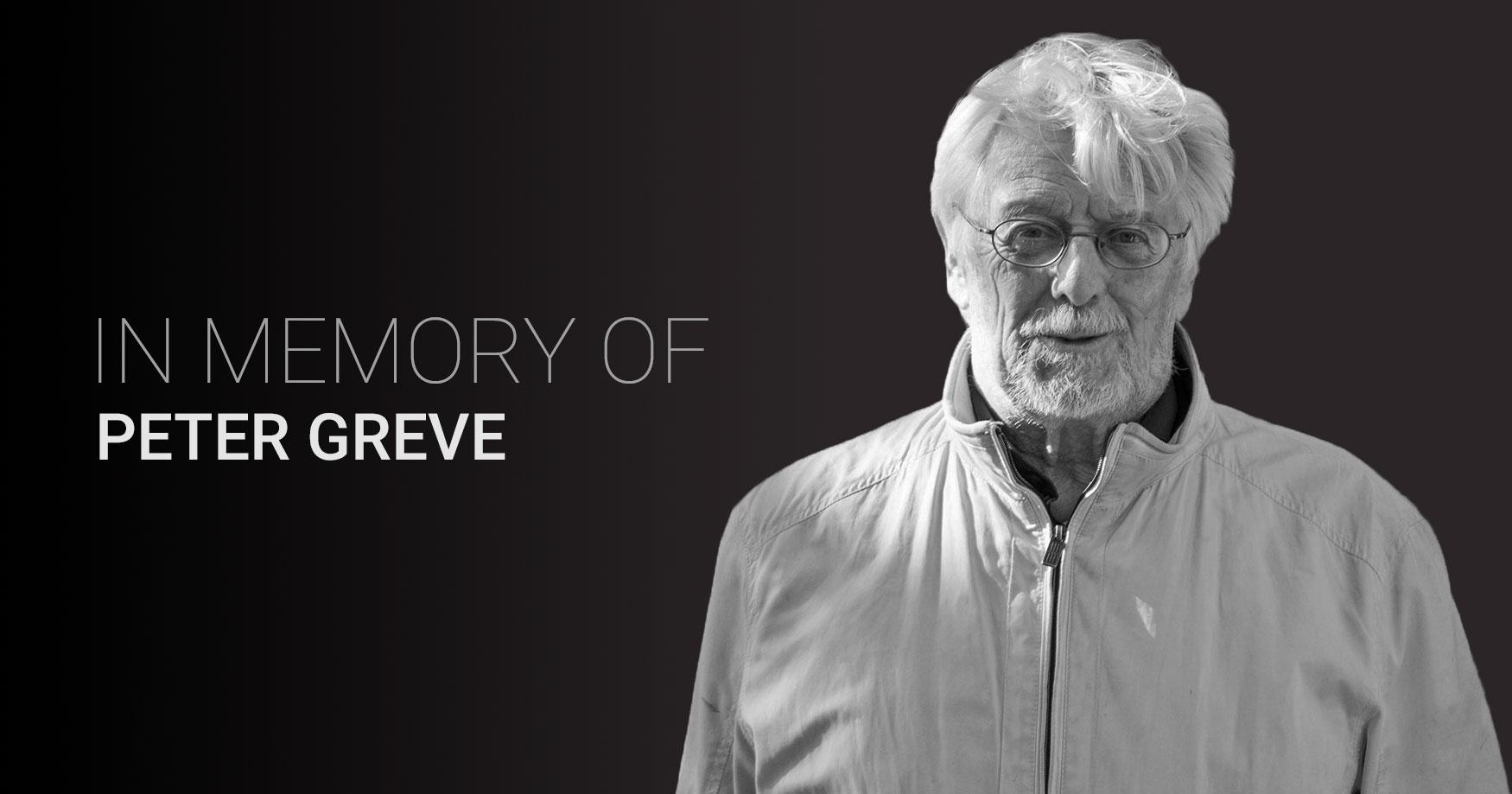 We Remember Peter Greve
