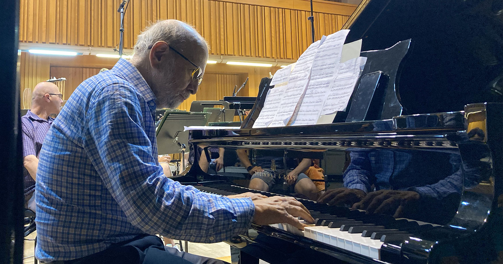 Jeffrey Jacob at Piano